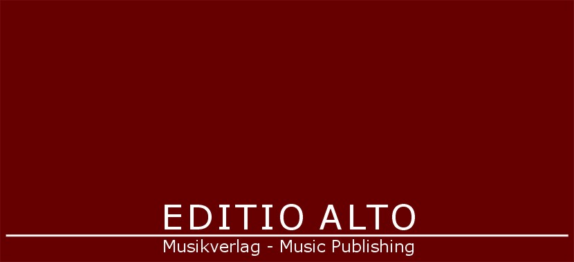 Editio Alto Musikverlag - Music Publishing